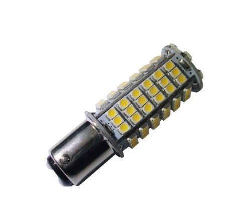 Grv Ba15D 1076 1142 High Bright Car Led Bulb 102-3528 Smd Dc12V Warm White Pack Of 2
