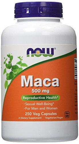 NOW Foods Maca 500mg, 250 Vcaps