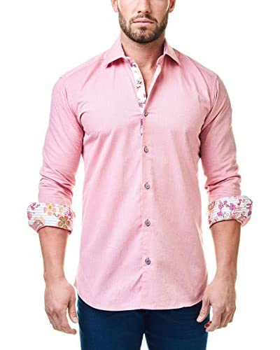 Maceoo Men's Luxor Flower Shirt