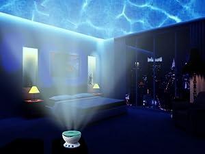 Hot!!! Abco Tech Multicolor Ocean Wave Light Projector 12