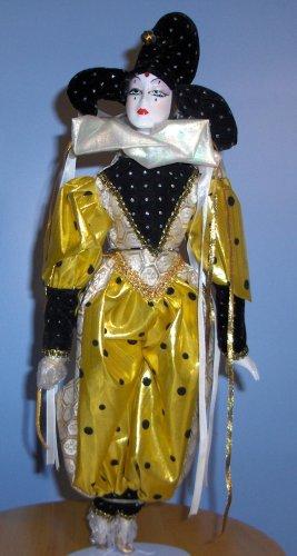 17.5 Inch Harlequin Porcelain Doll with Doll Stand - Buy 17.5 Inch Harlequin Porcelain Doll with Doll Stand - Purchase 17.5 Inch Harlequin Porcelain Doll with Doll Stand (Porcelain Doll, Toys & Games,Categories,Dolls,Porcelain Dolls)