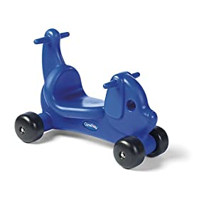 CarePlay 2001P Puppy Ride-On Walker - Blue