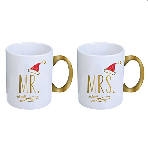 Mr. & Mrs. Santa Claus  Coffee Mugs