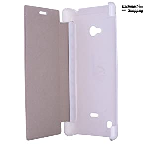 Dashmesh Shopping Flip Cover for Nokia Lumia 720   White color available at Amazon for Rs.150