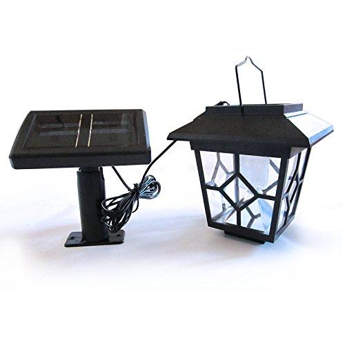 Solar-Laterne-mit-LED-Lampe-und-externem-Solarmodul-fr-Garten-Haus