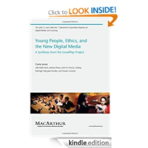 Logo for Young People, Ethics, and the New Digital Media: A Synthesis from the Good Play Project