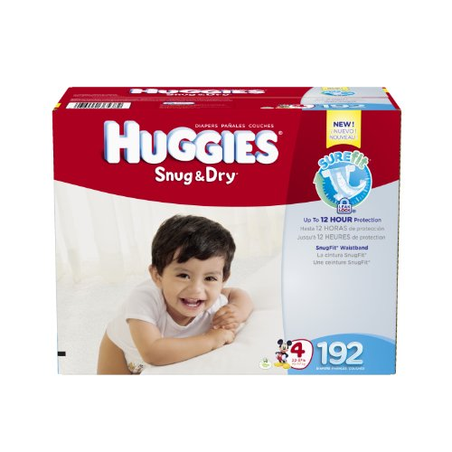 Huggies Snug Diapers Economy Count
