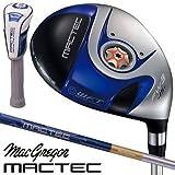 マグレガー ゴルフ マックテック MACTEC FS101 ブルー フェアウェイウッド FS4851N カーボンシャフト 5W/SR