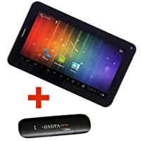 Maxtouuch MX-80456 Tablet (WiFi, 3G Via Dongle, Voice Calling)
