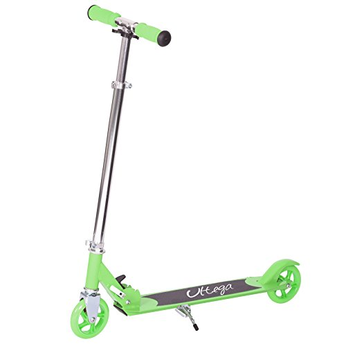 Ultega Kick Scooter, Green/Silver, 4.7-Inch