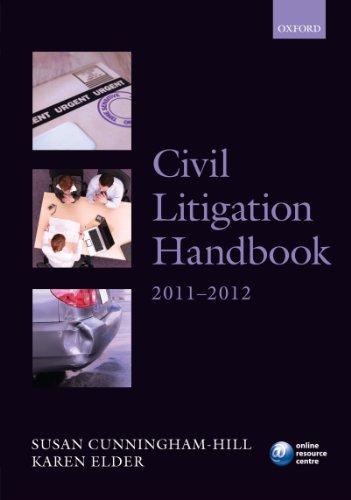 Civil Litigation Handbook 2011-12 (Legal Practice Course Guide)