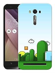 "Humor Gang Game Life Printed Designer Mobile Back Cover For ""Asus Zenfone 2"" (3D, Matte, Premium Quality Snap On Case)"