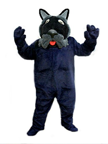 Mascots USA by CJs Huggables Custom Professional Low Cost Scottie Mascot Costume