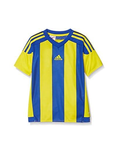 adidas Camiseta de Fútbol Striped 15 Amarillo / Azul