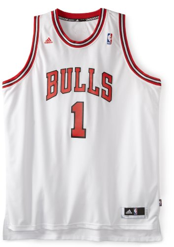 NBA Chicago Bulls Derrick Rose Revolution 30 Home Swingman Jersey H Size