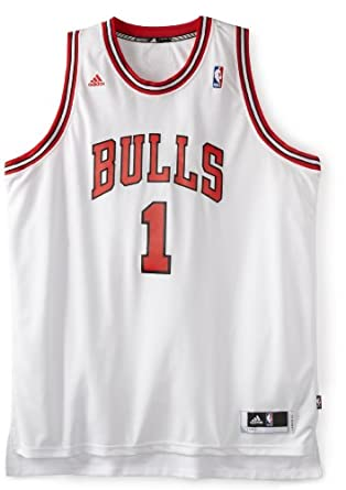 Buy NBA Chicago Bulls Derrick Rose Revolution 30 Home Swingman Jersey H Size by adidas
