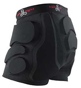 Triple Eight Roller Derby Bumsaver (Black, Medium)