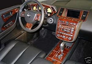 2004 Nissan Murano Black Car Interior Design