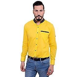 FBBIC Men's Bright Cotton Shirt