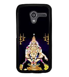 Lord Ayyappa 2D Hard Polycarbonate Designer Back Case Cover for Motorola Moto X :: Motorola Moto XT1052 XT1058 XT1053 XT1056 XT1060 XT1055