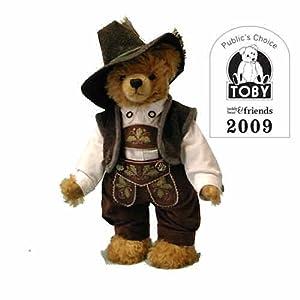 Old Bavarian Bear Toby Winner 2009-Pre-order from hermann