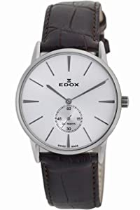 Edox Men's 72014 3 AIN Les Bemonts Ultra Slim Automatic Watch