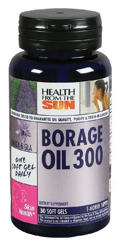 Health From The Sun - Borage Oil 300, 30 softgels