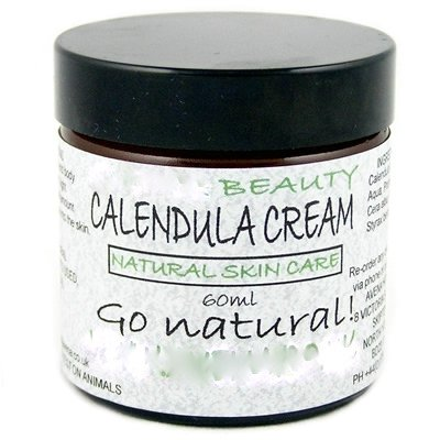 Calendula Cream 60ml (For cuts, scratches, grazes, acne, stretch marks, burns etc).