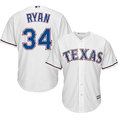 Nolan Ryan Texas Rangers #34 MLB Hall of Fame Men's Cool Base Home Jersey