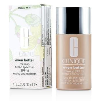 Clinique Even Better Makeup SPF15 (Dry Combination to Combination Oily) - No. 06 Honey 30ml/1oz