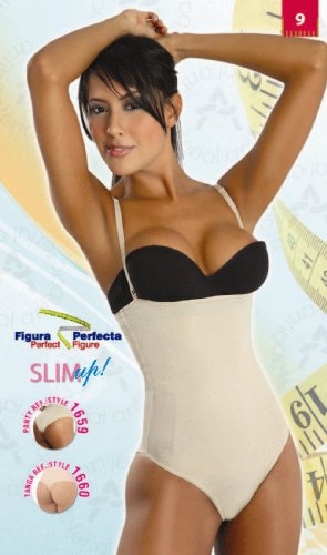 Colombian Girdle Strapless Body Shaper 1660-1661