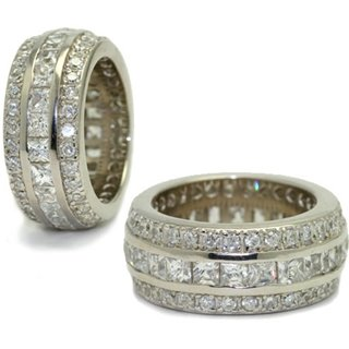 The Classic Hollywood Fantasy Eternity Ring - 9