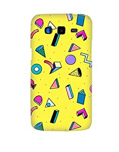 Pick Pattern Back Cover for Samsung Galaxy Grand 2 SM-G7106 (MATTE)