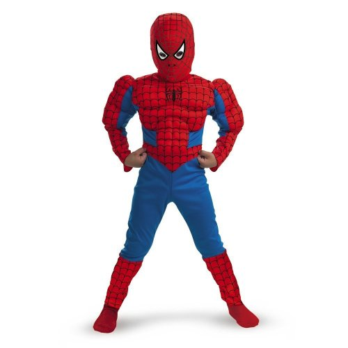 : Spiderman Muscle - Size: Child M(7-8)