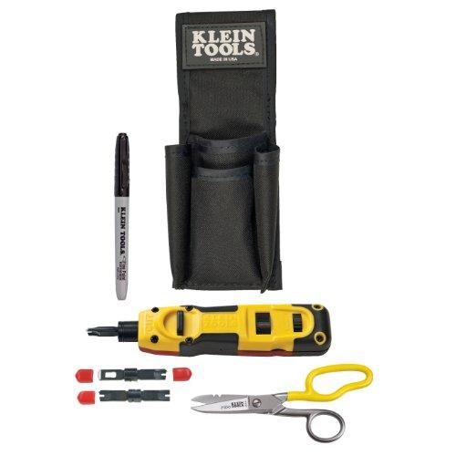 Klein Tools Vdv027-813 Lan Installer Starter Kit, Punchdown front-46402