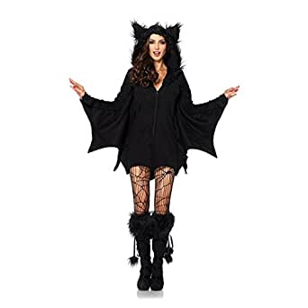 Lisli® Fashion Women Clothes Halloween Cosplay Masquerade Costumes Sexy Fancy Batman Cloak Coat