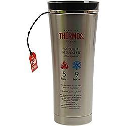 Thermos Auslaufsichere Isolier-Trinkbecher, Edelstahl, 470 ml