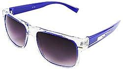Viaano Wayfarer Sunglasses (Blue, VI-TW16-04)