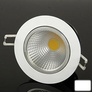 XuMarket(TM) 7W White Down Light / LED Ceiling Lights / LED Days Lanterns Light Bulb, Luminous Flux: 770LM by XuMarket