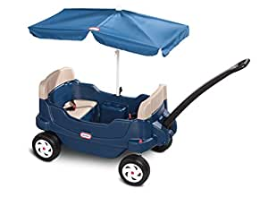 Amazon Com Little Tikes Cozy Cruisin Wagon With Umbrella