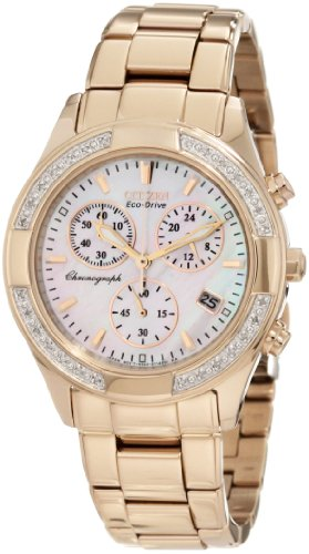 Citizen Women's FB1223-55D Regent Chronograph Eco-Drive Ladies' Watch