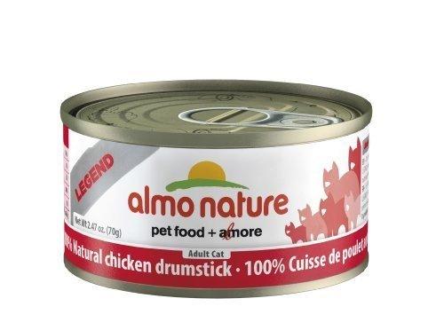 Almo Nature Legend Chicken Drumstick Dark Meat - 24x2.47 oz