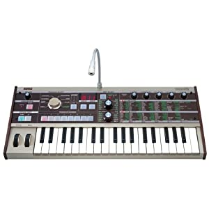 Korg microKorg 37-Key Analog Modeling Synthesizer with Vocoder by Korg