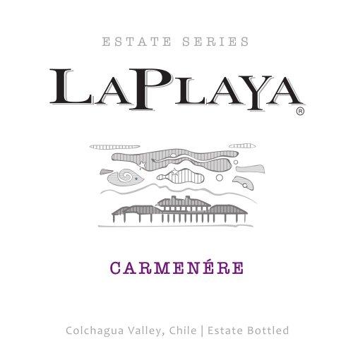 2013 La Playa Estate Series Carmenere 750 Ml