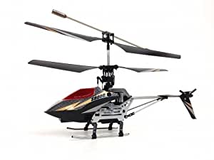 Syma S800G 4 Channel Remote Control Helicopter with Bonus Parts - Black & White