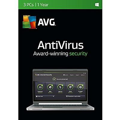 AVG Antivirus | 3 PCs | 1 Year Twister Parent