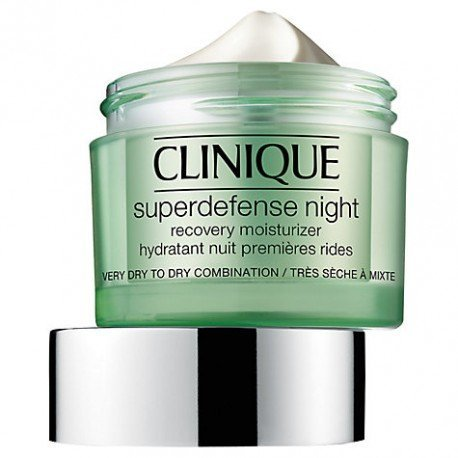 Clinique Crema Notte Superdefense Night Recovery Moisturizer 1/2 50 ml