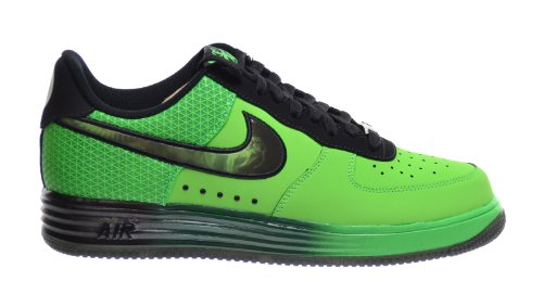 finest selection c5489 5eb6e ... germany nike lunar force 1 leather men s sneakers poison green black  580383 300 12 d m