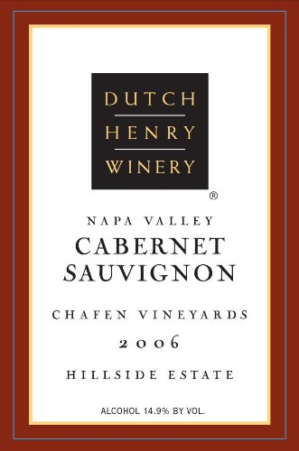 2006 Dutch Henry Winery Estate Cabernet Sauvignon 750 Ml