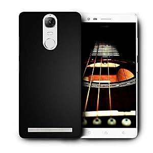 Snoogg Dark Black Pattern Design Printed Protective Phone Back Case Cover For Lenovo K5 Note